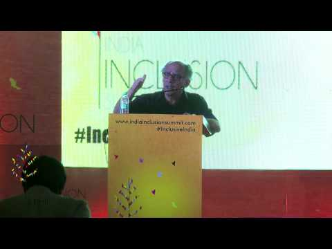 Arun Shourie at India Inclusion Summit 2014: How Being Selfish Can Help The World