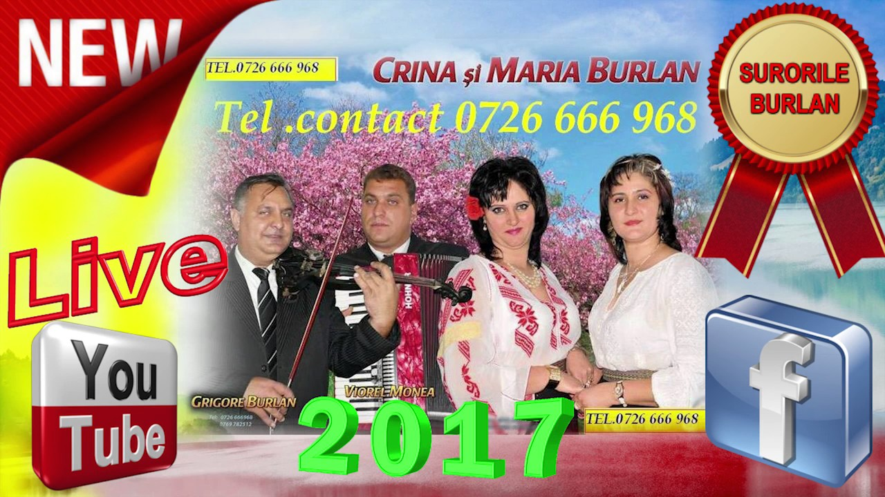 SURORILE BURLAN 4 -NOU 2017- COLAJ ASCULTARI, HORE, SARBE SI MUZICA DE PETRECERE SI VOIE BUNA