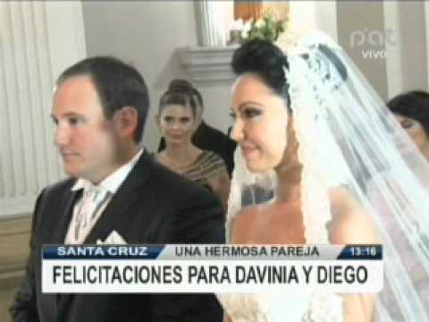 DAVINIA FERNANDEZ SE CASO CON DIEGO PARADA @ RED PAT