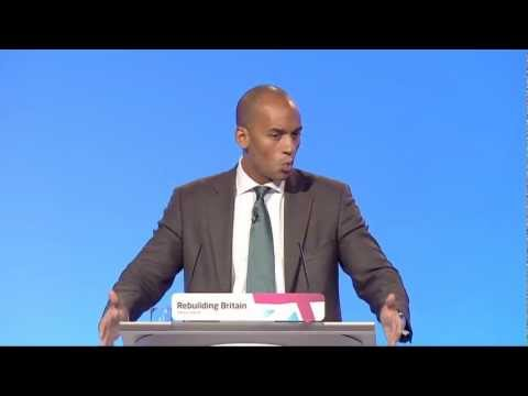 Chuka Umunna's speech to Labour Party Annual Conference 2012