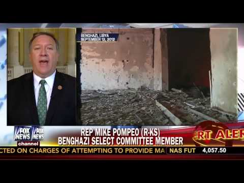 Rep Pompeo Previews Benghazi Select Committee Hearing