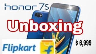 Honor 7s unboxing flipkart ishaan blog