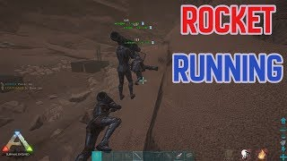 Rocket Running = Thick Loot | Small Tribes | ARK