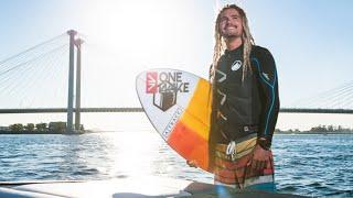 Austin Keen Teaches people how to Wakesurf in Kennewick Washington (HD) 2016