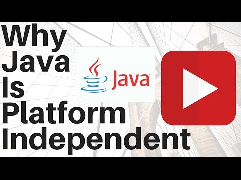 Why Java is Platform Independent