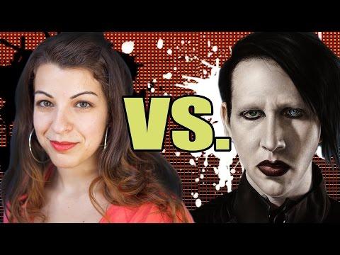 Anita Sarkeesian vs Marilyn Manson