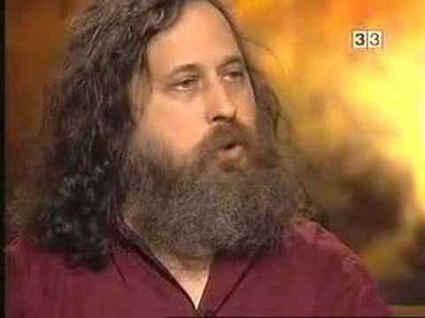 Stallman y el Gnu/Linux Software Libre