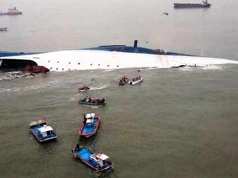 Capsized South Korean ferry disaster: Captain, two crew members arrested