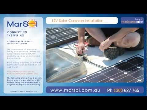 DIY Solar Caravan Installation Video Guide HD