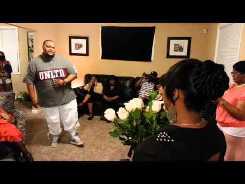 Woman Gets Surprised By Singing Marriage Proposal (Tear Jerker)