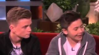 Bars and Melody on Ellen (Full Interview) (2014)