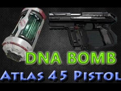 Bird Bomb Pistol Atlas 45 Pistol Dna Bomb