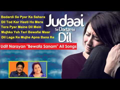 Udit Anuradha (Bewafa Sanam) All Songs - Sad Sentimental Songs...