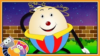 Humpty Dumpty Sat On A Wall | Nursery Rhymes for Children | Silly Sox