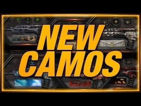 Black Ops 2: NEW Camos!