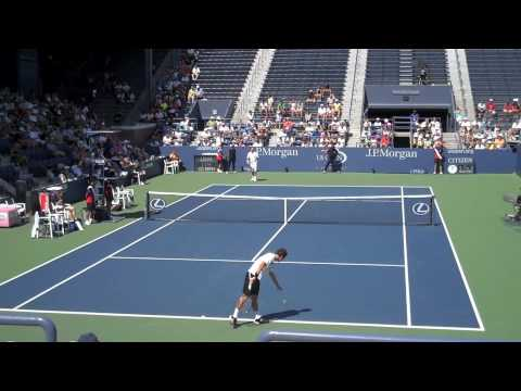 US Open 2009 Round 3: Radek Stepanek def Philipp Kohlschreiber Video