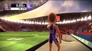 Kinect Sports: Track and Field Gameplay