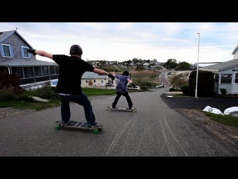 Longboarding: Dane, Thane Stains & Brian pt.1