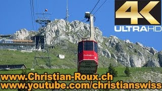 UHD/4K - Postcard from Stockhorn, Swiss mountain (filmed with Sony AX100)