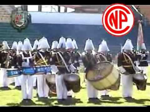 Colegio A. Jose de Sainz en el VI concurso Nal. de Bandas 2010 Potosí - Bolivia