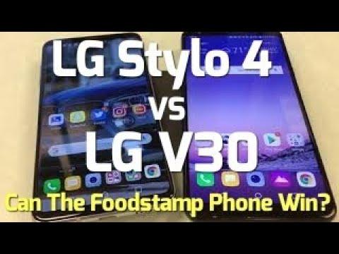 lg stylo 4 vs lg v30 | mobile arena
