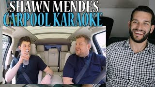VOCAL COACH reaction to SHAWN MENDES singing on CARPOOL KARAOKE