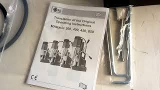 Hướng dẫn sử dụng máy khoan từ BDS MABASIC 850 chính hãng. Himarket.vn Mua ngay 0888571179