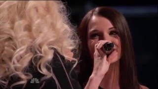 Blind Audition Caitlin Caporale - Impossible (ft Christina Aguilera)