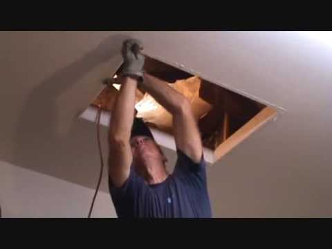 How to install an attic ladder...Part 2
