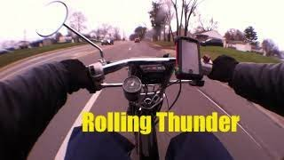 Rolling thunder: Urban Express with malossi race gears