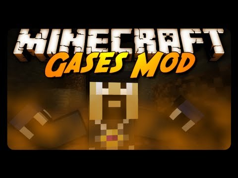 Minecraft Mod Review: GASES MOD! (Flammable, Explosive & More!)