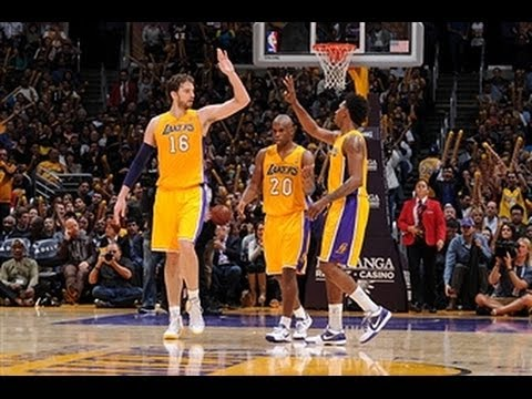 Pau Gasol's Near Triple-Double Silences the Jazz