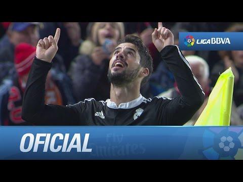 Golazo con rosca de Isco (0-1) UD Almería - Real Madrid
