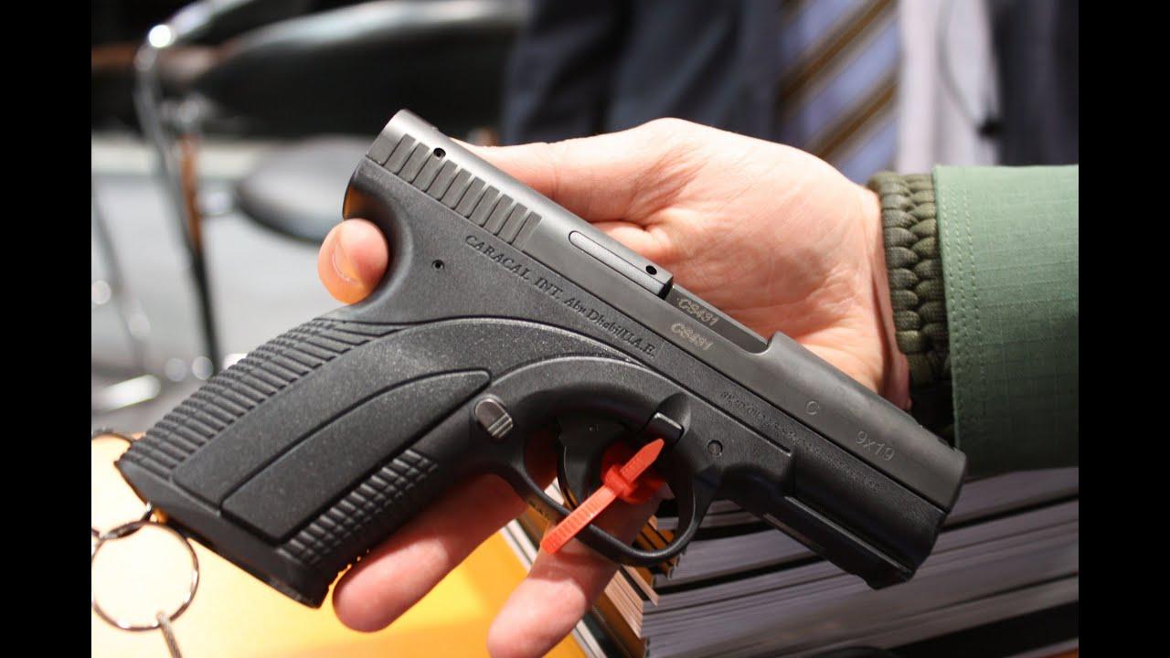 Foto de pistola caracal 36