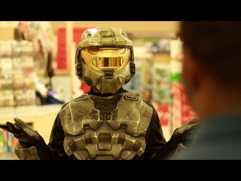 Master Chief IRL:  The Grocery Store