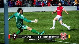 Salford City 3-0 Kidderminster Harriers - National League North 19/08