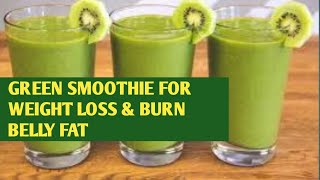 Green Smoothie Recipes For Weight Loss | Easy & Healthy Breakfast Ideas. 2020