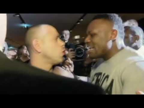 Haye vs Chisora brawl (fight) - good quality