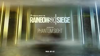 Rainbow Six Siege Operation Phantom Sight Main Menu [OST]