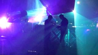 The XX Video - The xx - Swept Away (NEW SONG live in LA @ The Fonda 07.23.12)