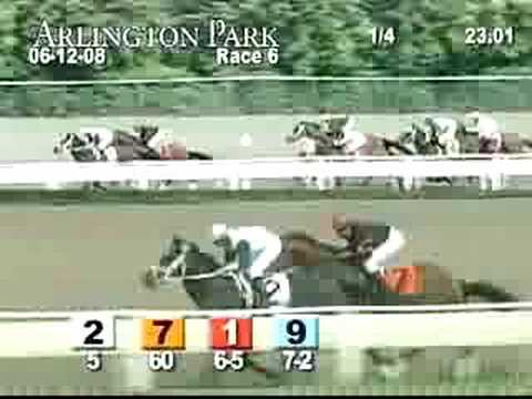 ARLINGTON PARK, 2008-06-12, Race 6 Video