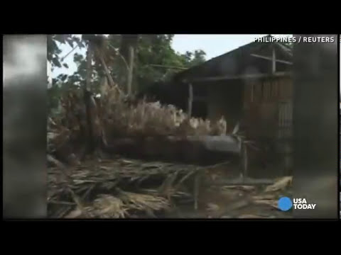 Super typhoon Haiyan yolanda Philippines - Huge Tsunami Waves [INCREDIBLE VIDEO]
