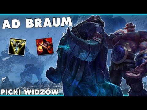 AD Braum TOP - PICKI WIDZÓW - League of Legends Patch 7.9