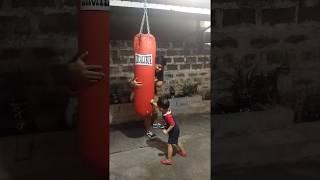 Kid Vito's boxing training