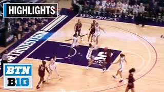 Highlights: Boston College at Northwestern | B1G Women's Basketball | Dec. 4, 2019