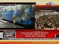 Bus na may sakay na mga estudyanteng nasa field trip, nasunog