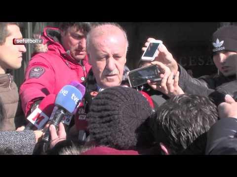 Vicente del Bosque habla sobre Luis Aragonés tras su visita al tanatorio