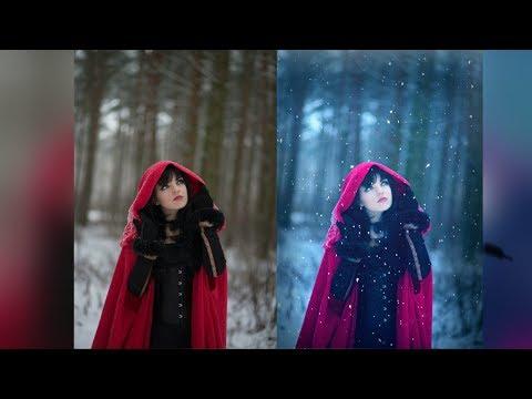 Picsart Snow White Editing/ How to Edit Winter Portrait Photography |PicsArt photo Manipulation