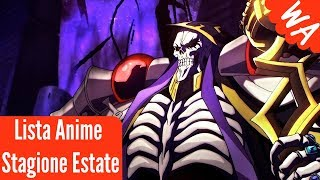 Anime Stagione Estate 2018 [ITA]