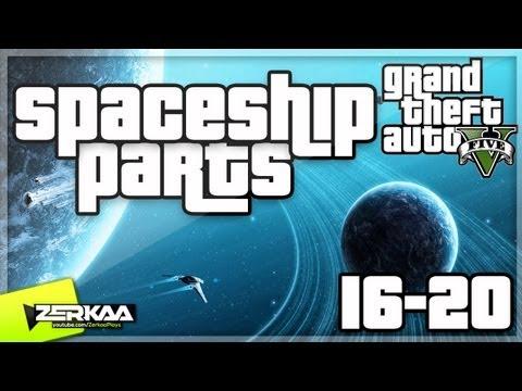GTA V Spaceship Parts (16-20)